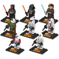 Wholesale Star Wars Minifigures Building Blocks Assembly Building Bricks Toys Styles Fancy Toys With Gift Box