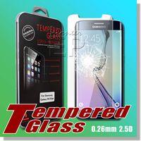 active films - S6 active S6 Tempered Glass SAMSUNG A3 A5 A7 S3MINI S4MINI S5MINI NOTE EDGE GRAND PRIME GRAND DOUS Screen Protector Bubble for Glass Film