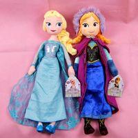 Wholesale 2015 Frozen Anna Elsa Plush Dolls Toys cm Christmas Gift