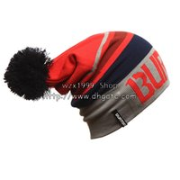 Wholesale New burton snow boarding cap outdoor skating wool cap knitted hats colors women s witer cap