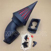 airing meaning - Motorcycle For Kawasaki Vulcan Mean Streak BLACK Spike Air Cleaner Kits