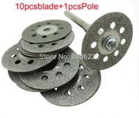 Wholesale Grinding accessories Diamond cutting disc blade Perforated jade glass cutting piece of mm order lt no track