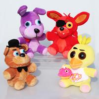big night - Game Five Nights at Freddy s Plush FNAF Bonnie Foxy Freddy Chica Fazbear Fever Plush Toy Stuffed Soft Dolls For Great Gift