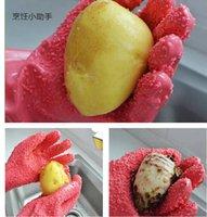 Wholesale 2015 Hot New Vegetable Peeler Gloves Magic Household Tools Kitchen Gadgets Potato Peeling Gloves