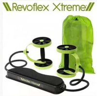 abdomen equipment - Revoflex Xtreme Fitness Abdomen Machine Fitness Equipment Abdominal Slim Trainer AB Trainer Body Slimming Exercise Bands Rope LJJE195