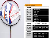 Wholesale 2016 new Original VICTOR Challenger Badminton Racket Hot selling Badminton Racquets Present Racket Cover String