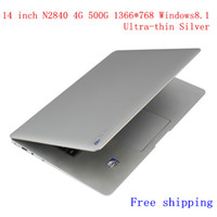 slim laptop - new inch ultrabook slim laptop computer Intel N2840 J1800 GHZ GB GB WIFI Windows Webcame laptop notebook Silver N145