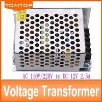 Wholesale 30W A V transformer power supply for led strip light AC110V V input voltage transformers for led lighting