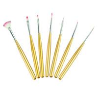 acrylic paint use - Newly Design Hot DIY Women Nail Art Tools Acrylic Drawing Painting Pen Polish Nail Brush Wholesales Home Use