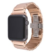 Wholesale Fancy metal golden watchband for apple watch L stainless steel watch bracelet for iwatch mm