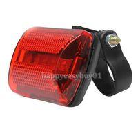 bicycle back light - New Arrival Hot Bike Bicycle LED Rear Tail Light Bike Bicycle Red Back Light Safety Warning Flashing Lights BHU2