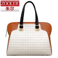 artwork news - NEWS All three colors are available ZOOLER BRAND Genuine Leather bag bags Handbags women Shoulder bags OL Style women bag