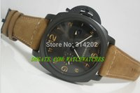 whites gmt - luxury watches Fashion watch Top Quality GMT Days PAM PAM441 Automatic Watches men