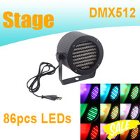 Wholesale PAR Cans Lights With Channel DMX Control W AC110 V LEDs PAR Light For Disco Pub Club Concert Wedding Party
