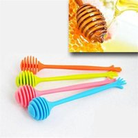 Wholesale 2015 New Hand Shaped Honey Stick cm Stirring Honey Mixing Stick Dessert Tools Kitchen Tools ZT