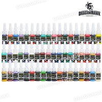 Wholesale Tattoo Ink Tattoo Supplies Color inks ml bottle Complete Set Supply WSL126