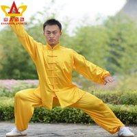 Wholesale High grade silk clothing Shanren motion Taiji martial arts clothing manufacturers of men and women