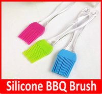 cooking oil - HOT Silicone Baking Bakeware Bread Cook Pastry Oil Cream BBQ Tool Basting Brush astry Bread Oil Cream Cooking Basting Brush