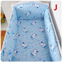 Wholesale Child Crib Bedding Set Set Colors Many Sizes For Choice Cotton Bed Around Bumper Kit Very Soft For Neborn Kids