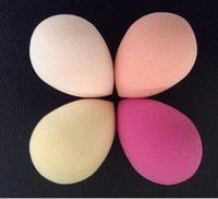 Wholesale 200pcs Beauty Makeup Sponge Blender Flawless Smooth Shaped Water Droplets Puff BB cream partner
