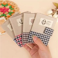air pack delivery - Free delivery Naval Air classic plaid card pack multi card bit bus card Korean canvas bag
