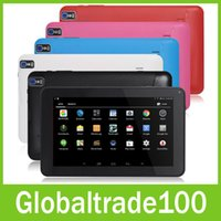 android 4.0 tablet - New inch A33 Quad Core Android Tablet PC GB ROM M RAM Dual Camera Bluetooth Tablets Flash Light WiFi OTG Multi Touch Free DHL