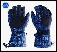 Wholesale bicycling gloves skiing basebll winter warm thick outdoor sports car racing Cycling gloves golf patterns