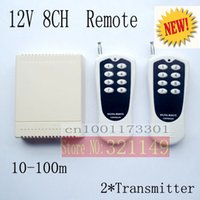 rf system - 12V CH channel RF Wireless Remote Control Switch Remote Control System receiver and transmitter M Learning code