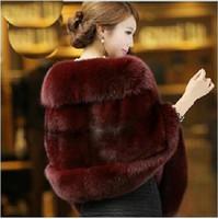 Wholesale Autumn and Winter warm New Silver Fox Fur Vest gilet outerwear womens fashion fur coat plus size color