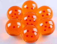 animations retail - 7 cm Free ship Retail animation dragonBall stars crystal ball set of new in box dragon ball hql