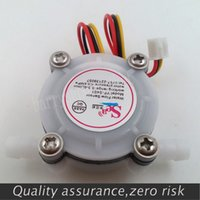 Wholesale New G1 L min Water Coffee Flow Sensor Switch Meter Flowmeter Counter water flow sensor L min MPA