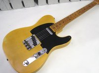 beautiful shopping - New Beautiful hot sell Custom Shop Nocaster Relic Blonde Tele electric guitar in stock