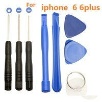 Wholesale Tool Repair Kit Screwdriver Opening Pry Set Kits In For iPhone S s Crowbar Blue Shell for Apple iphone4s iphone plus s top