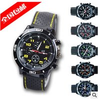 Wholesale Colorful GT Watch F1 Men Sports Watch Luxury Brand Silicone Strap Quartz Men Military Wristwatch Men s Watches