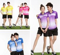 Wholesale new volleyball badminton clothing tennis suit training wear casual clothes sportswear DIY custom print