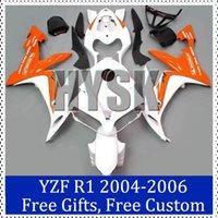 aftermarket bike fairings - Orage white fairing kits for Yamaha Racing bike Fairing Kit YZF R1 YZF R1 Aftermarket motorcycle bodywork