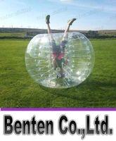 Cheap free shipping Fedex Free Ship 1.5m PVC zorb ball ,inflatable human hamster ball,inflatable bumper ball,bubble football,bubble soccer LLFA399