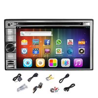 dual cd player - Pupug Android Car GPS Radio Video CD MP3 DVD Player Stereo DIN Capacitive WiFi Dual CPU Car DVD Video Player