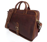 crazy horse leather - Ginuine Crazy Horse Leather Men s Handbag Bag Laptop bag Briefcase Messenger bag FREE SHIP