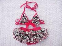swim shirts - NEW ARRIVAL baby girl kids swimwear swimming suits bikini zig zag totem flower floral leopard zebra lace tops shirt tank bloomers shorts
