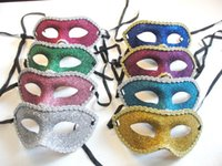 Wholesale Women Sexy Hallowmas Venetian mask masquerade masks Lace Gold powder mask dance party mask