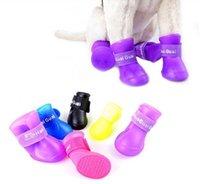 Wholesale Dog s Shoes Pet Shoes Pet Boots Anti Slip Skid Waterproof Size S M L