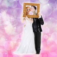 bathroom decor pictures - ASLT New Bride Groom Picture Perfect Portrait Resin Figurine Wedding Cake Decor order lt no track