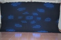 Wholesale P6 x4 Led Vision Curatin PC control SMD RGB led