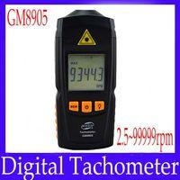 Wholesale Portable Digital tachometer GM8905 measure range rpm MOQ