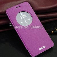 asus logo - Colors For ASUS Zenfone Case Flip Leather Cover For Zenfone Case Original Phone Covers With Logo Screen Protector