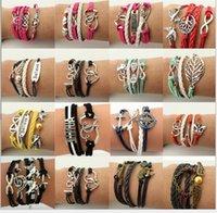 big friendship bracelet - 2016 Factory creative braceletEurope and the United States of big shop sign multilayer woven friendship bracelets hand rope002
