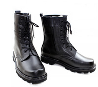 work boots for men - 2015 New Arrival Winter Boots For Men Wool Lining Men s Knee High Snow Boots Genuine Leather Military Boots Black Cowboy Boots