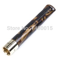 artistic materials - artistic carving cigarette holder living willow material Double loop filter could Cleaning