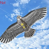 Wholesale Line Outdoor Cartoon Kite Fun Sports Huge Eagle Kite High Quality Flying Higher Big Kites Kites Plastic Handle Flying Novelty Toy SV007685